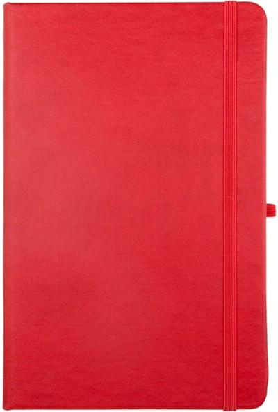 Hediyehanesi Kişiye Özel İsimli Not Defteri ve Kalem Seti Kırmızı