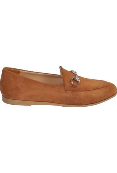 Park Fancy Taba Süet Kadın Günlük Ayakkabı