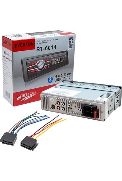 Everton Rt-6014 4X50 W Bluetooth-Usb-Sd-Fm-Aux Destekli Oto Teyp