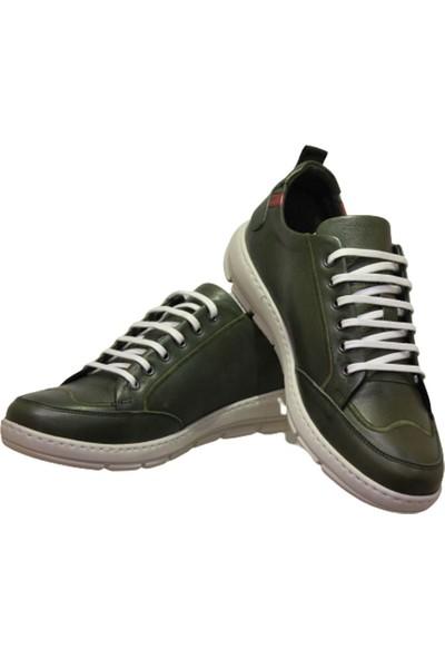 James Franco 5029 Erkek Günlük Ayakkabı Yeşil