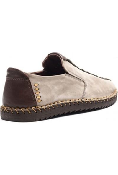 James Franco 4622 Erkek Hafif Yazlık Ayakkabı Vizon