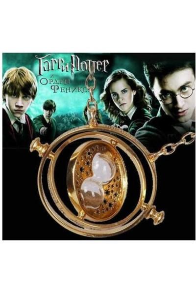 Narkissos Harry Potter Time Turner Büyük Boy Kum Saati Kolye