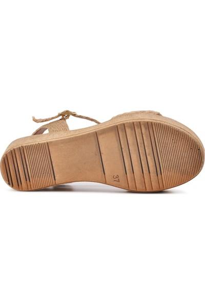 Park Fancy Hasır Kadın Sandalet