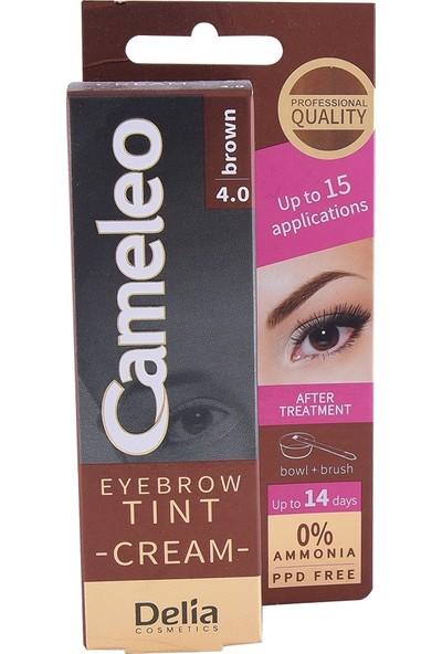 Delia Delia Cameleo Eyebrow Tınt Cream 4.0 Brown