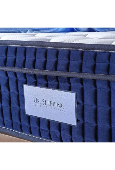 Us. Sleepıng Masaj Terapi Torba Yaylı + Visco Yatak