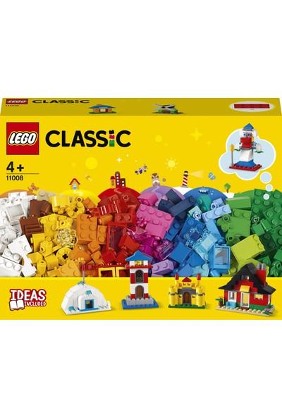 LEGO® Classic 270 Parçalık Yapım Parçaları ve Evler Kutusu (11008) - Çocuklar İçin Yaratıcı Oyuncak Yapım Seti