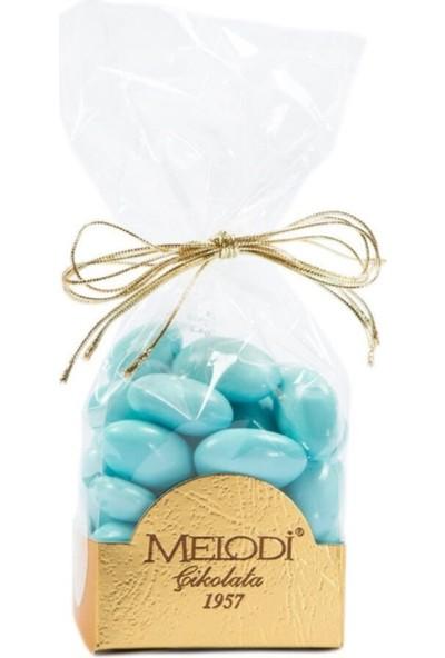 Melodi Çikolata Mavi Renkli Badem Şekeri 500 gr