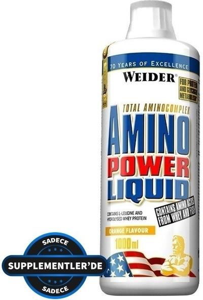 Weider Amino Power Liq. (1000 ml) (portakallı)