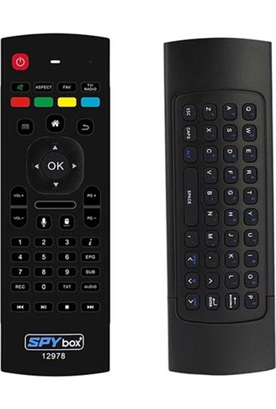 SPYbox Kr Next 10000 UHD 4K * Spybox S9 4K Air Mouse Iptv Air Fly Mouse Kumanda