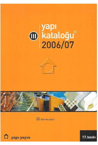Yem Yayın Yapı Kataloğu 2006-07 (5 Kitap)