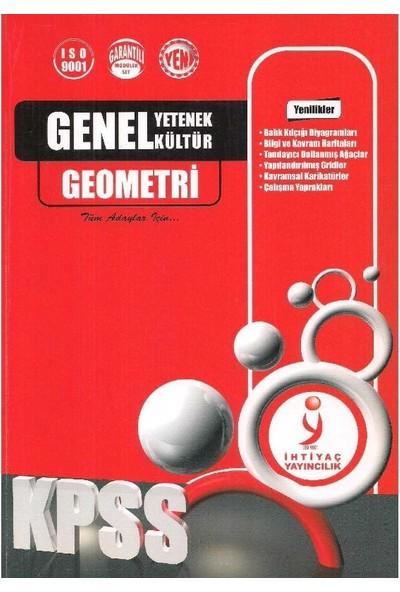 Kpss Geometri Genel Yetenek Genel Kültür - Ihtiyaç Yayınları