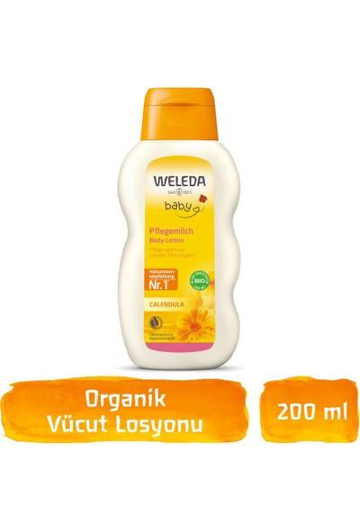 Weleda Calendula Organik Nemlendirici Vücut Losyonu 200ML