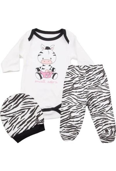 Güneş Bebe Zebra Zıbın Takım