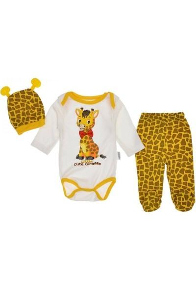 Güneş Bebe Zürafa Zıbın Takım