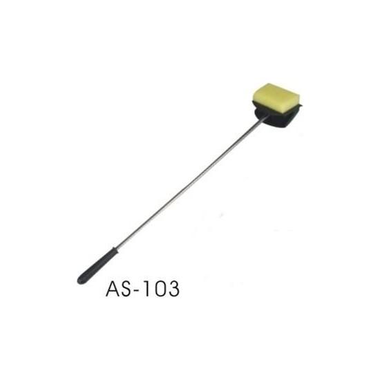 Boyu Metal Saplı Cam Temizleme Sileceği 59CM