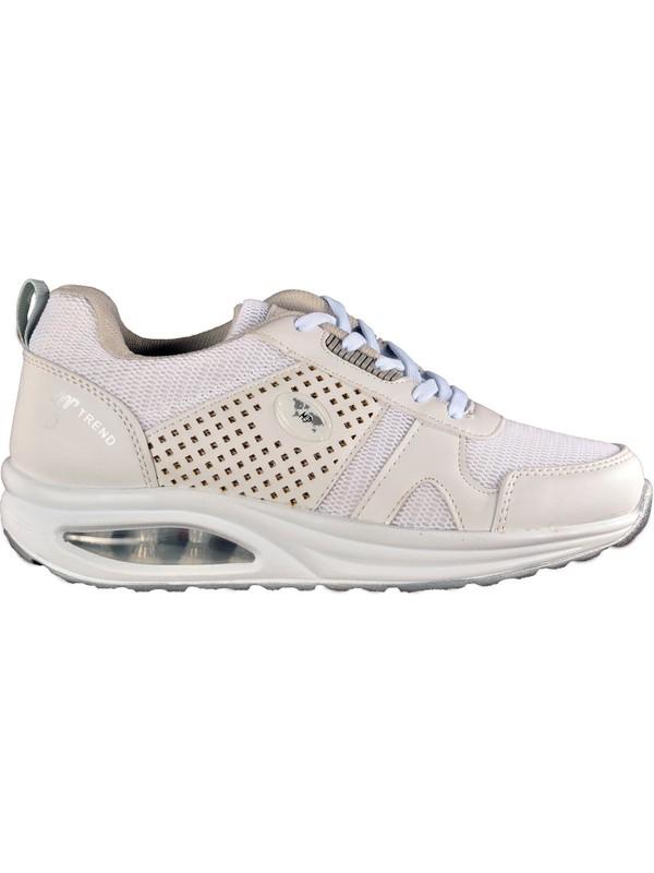 M.P. M.p Beyaz Kadın Spor Ayakkabı