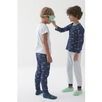 Penti Çok Renkli Erkek Çocuk Skeleton 4lü Pijama Takımı