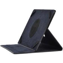 Noktaks Samsung Google Nexus 10 GT-P8110 10.1 Inç Uyumlu Kılıf 360 Dönebilen Standlı Tablet Kılıfı