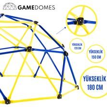 Game Domes Sarı Lacivert 180 Cmgame Domes-Oyun ve Tırmanma Alanı-Bahçe Oyuncağı