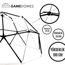 Game Domes Siyah Beyaz 150 Cm-Game Domes-Oyun ve Tırmanma Alanı-Spor Oyuncağı