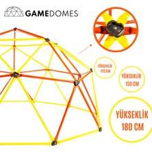 Game Domes Sarı Kırmızı 180 Cm-Game Domes-Oyun ve Tırmanma Alanı-Spor Oyuncağı