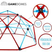 Game Domes Bordo Mavi 180 Cm-Game Domes-Oyun ve Tırmanma Alanı-Bahçe Oyuncağı