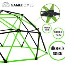 Game Domes Yeşil Siyah 120 Cm-Game Domes-Oyun ve Tırmanma Alanı-Bahçe Oyuncağı