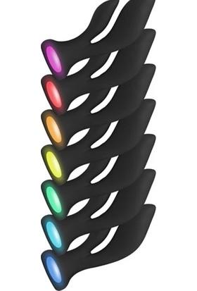 Toyjoy Luz Aura Double Orgasm Stimulator Rechargeable Şarjlı Erkeklere ve Bayanlara Özel 5X5ML Lubricant Kayganlaştırıcı Jel P3006010362