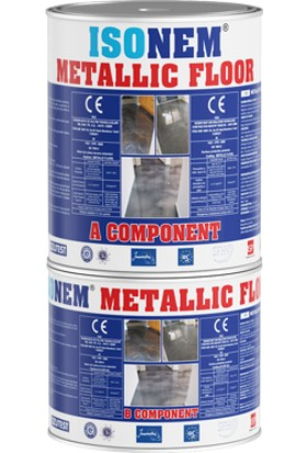 Isonem Metallic Floor Metalik Zemin Kaplama 2.5 kg