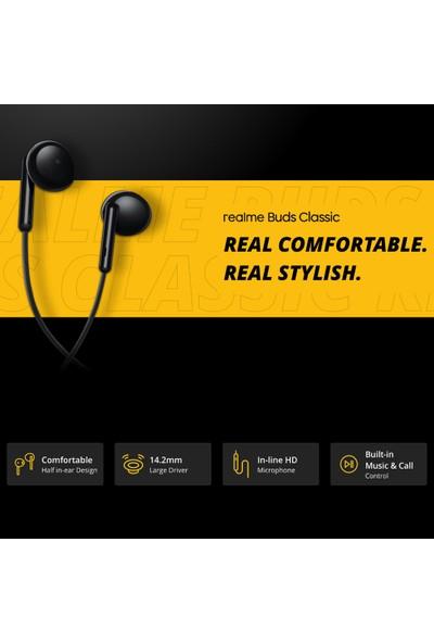 Realme Buds Klasik Kulaklıklar 1.3m Kablolu Kulaklıklar (Yurt Dışından)