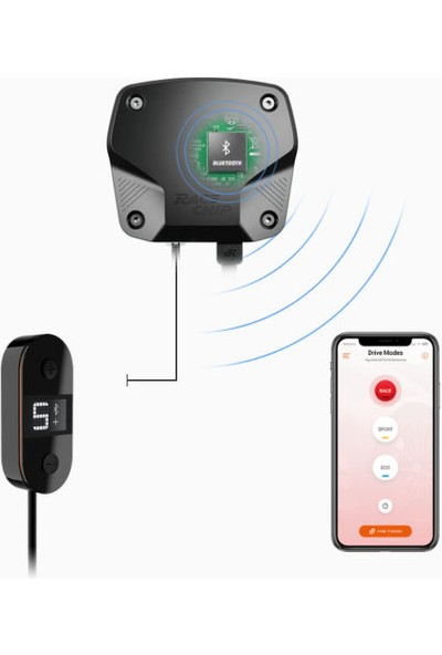 Race Chip Racechip Xlr App Mercedes Benz Cls (C257) 300D 245 Ps 500 Nm Model Için Bluetooth Kontrollü Gaz Pedalı Tepkime Hızlandırıcı
