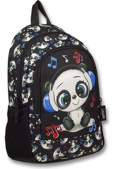 Master Pack Ümit Çanta Cennec Sevimli Panda Baskılı Sırt Çantası