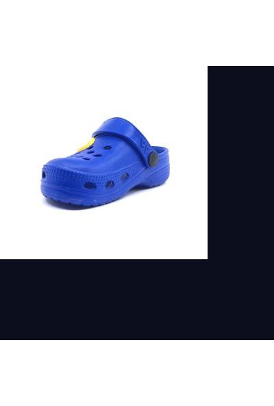 Sonimix Mavi Günlük Plaj Havuz Erkek Çocuk Terliği