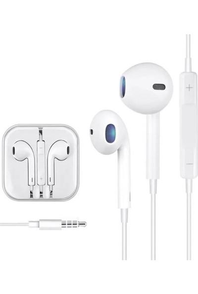 Syrox K12 Kablolu IPHONE Görünümlü Mikrofonlu Kulaklık **yeni**