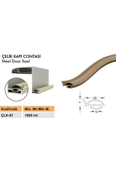 Contacall Çelik Kapı Fitili - Contası 6 Metre Gri Renk Çelik Kapı Kasa Fitili Ürün Kodu- Çlk-87