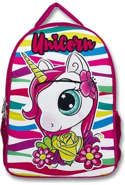 Master Pack Cennec Sevimli Unicorn Baskılı Kız Çocuk Ilkokul ve Günlük Sırt Çantası 109