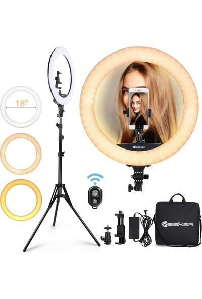 """Elegiant Uzaktan Telefon Tutucu ile Kısılabilir Kamera 1/4 """"montaj Canlı Akış Için Taşıma Çantası (Yurt Dışından)"""