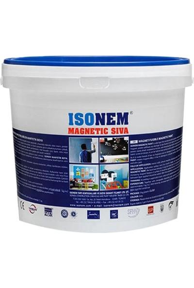 Isonem manyetik Sıva (Üzerine Mıknatıs Yapıştırılabilen Sıva) 10 kg