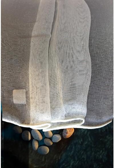 Evdepo Home Çiğdem Tül Perde Ekstraforlu Pilesiz - Krem 260 x 250 cm