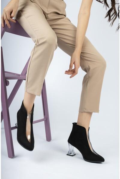 Moda Değirmeni Kadın Şeffaf Detaylı Bot MD1086-116-0001