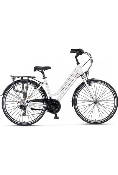 Ümit Bisiklet Ümit Ventura 28 Jant V Firen 46''dm Bayan Şehir Bisikleti Beyaz