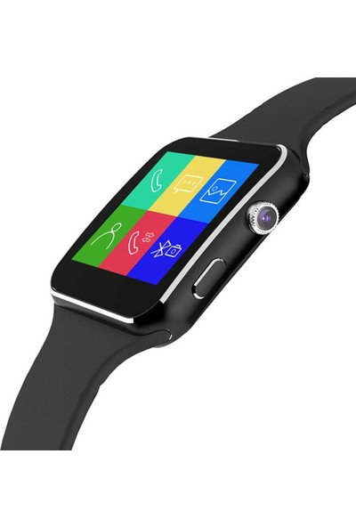 Optivals 2021 X6 Sim Kartlı Akıllı Saat
