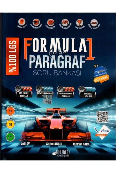 Son Viraj Yayınları 8. Sınıf Lgs Paragraf Formula 1 Serisi Soru Bankası - Veli Ay
