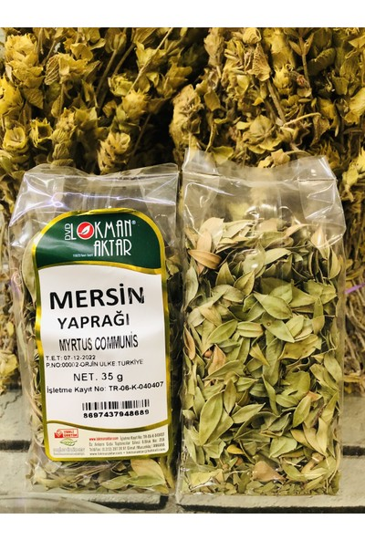 Lokman Aktar Mersin Yaprağı 35 gr
