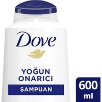 Dove Yıpranmış Saçlar için Şampuan Yoğun Onarıcı 600 ML 1 Adet