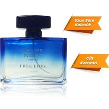 Free Love Silver Night EDP Erkek Parfüm 100 ml