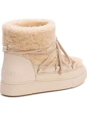Cool Moon Kürklü Kadın Sneakers 355067