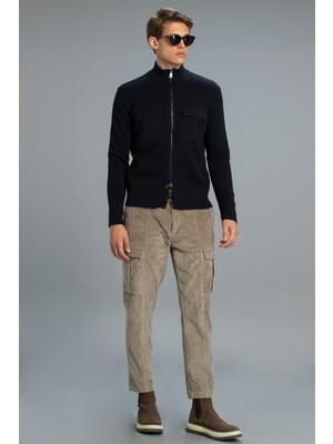 Lufian Agazıo Erkek Kargo Pantolon Tailored Fit Vizon