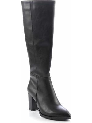 Bambi Siyah Kadın Çizme K03726300009
