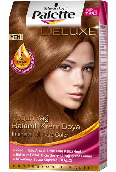 Palette Saç Boyası 7-554 Altın Karamel